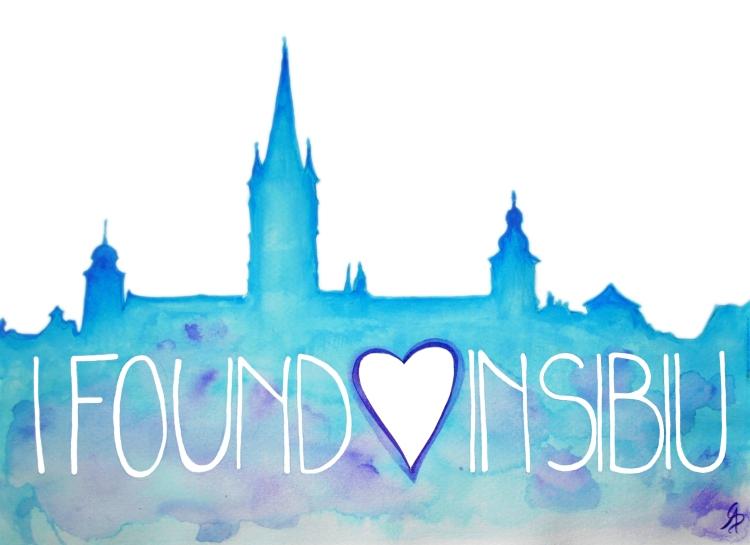 I Found Love In Sibiu inima text