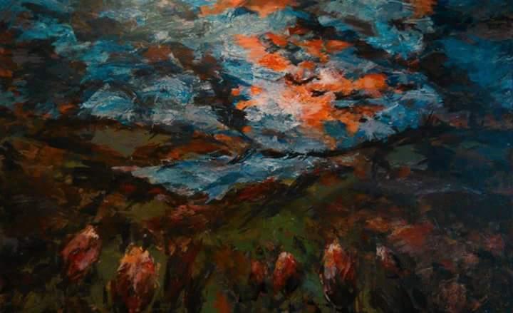 Peisaj crepuscular Crina Oprean