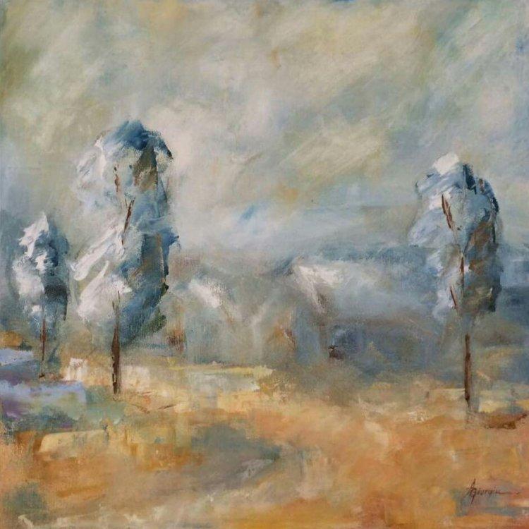 Ger peisaj tablou Antonela Giurgiu