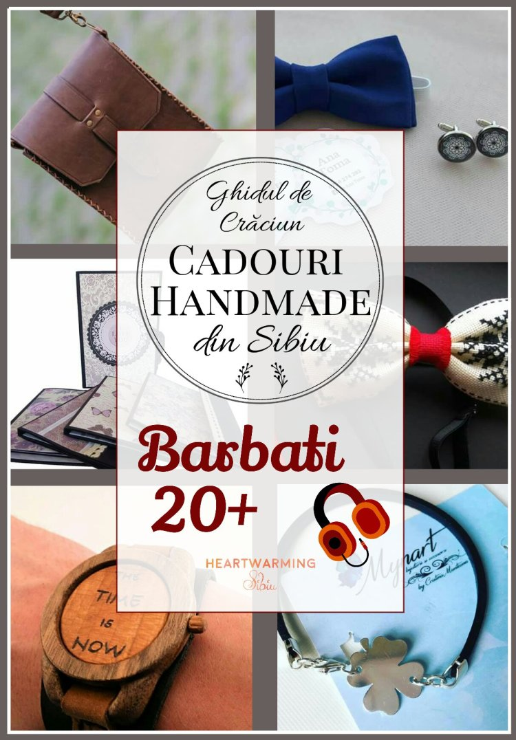 Cadou handmade barbati heartwarming sibiu