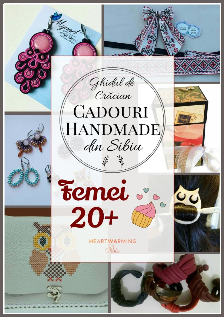 Cadouri handmade femei craciun heartwarming sibiu