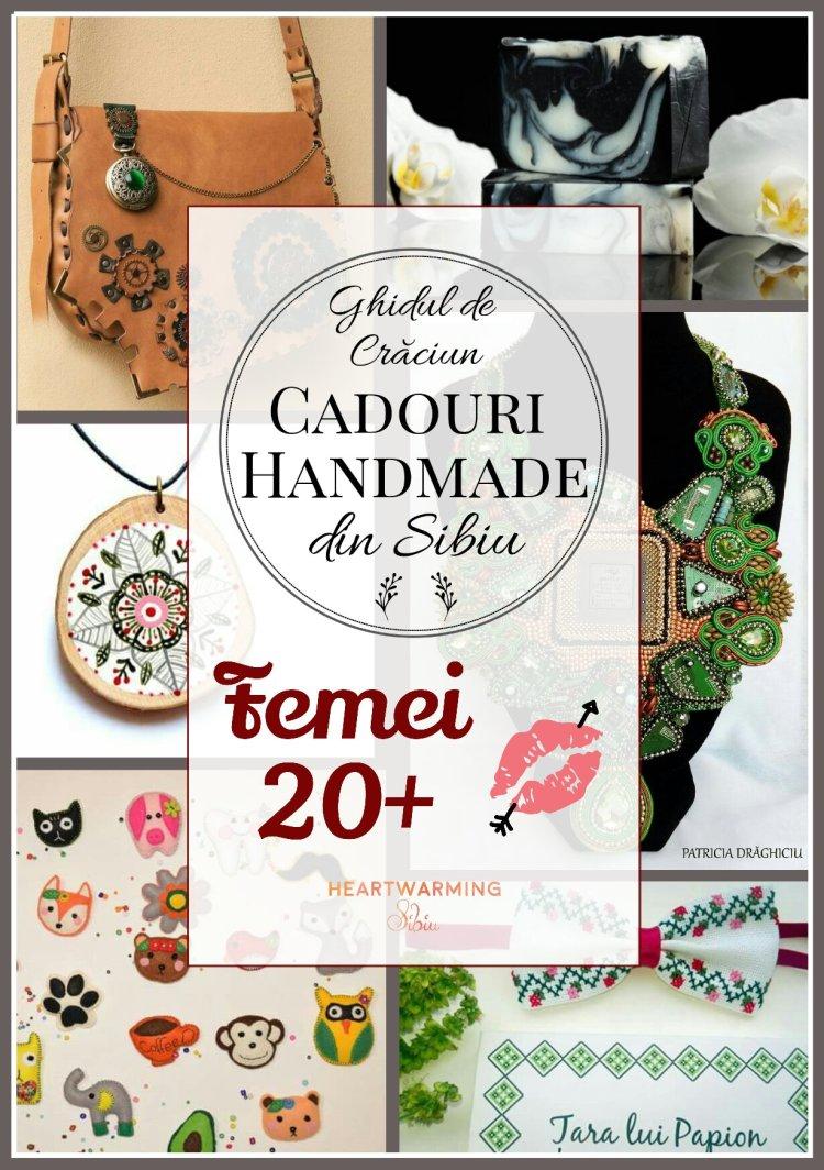 Cadouri craciun handmade femei heartwarming Sibiu