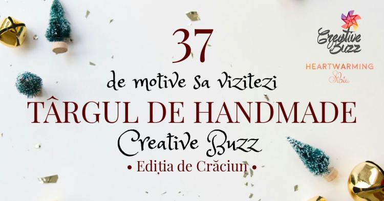 Targ Creative Buzz handmade craciun facebook