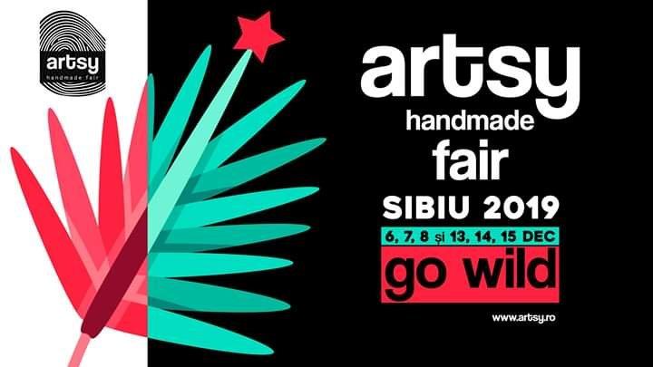 Artsy, Crăciun, Sibiu, festival handmade, cadouri, lucrate manual